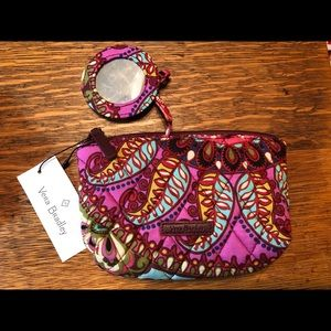 Vera-Bradley Mirror Cosmetic Bag